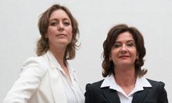 Jitske Kramer en Danielle Braun